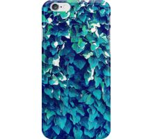 Blue And Green Foliage iPhone Case/Skin