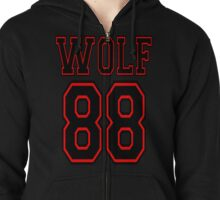 ♥♫WOLF 88-Splendiferous K-Pop Clothing & Phone/iPad/Tablet/Laptop Cases & Stickers & Bags & Home Decor & Stationary♪♥ Zipped Hoodie