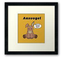 Who You Calling Aasvogel Framed Print