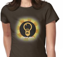Logical Idiots v4 - The Bulb Redesigned (Shiny) Womens Fitted T-Shirt