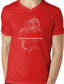 White Dragon Noodle Bar Mens V-Neck T-Shirt