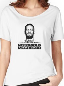 Conor McGregor MugShot HalfTone Women's Relaxed Fit T-Shirt