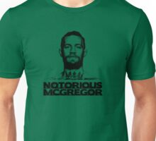 Conor McGregor MugShot HalfTone Unisex T-Shirt