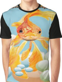 Cod, You Scared the Carp Out of ME! Graphic T-Shirt