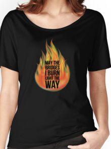 Bridges Women's Relaxed Fit T-Shirt