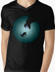 HTTYD dragon Mens V-Neck T-Shirt