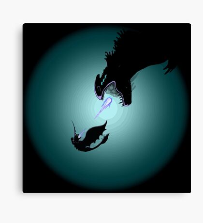 HTTYD dragon Canvas Print
