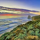 Sunset and the 12 Apostles are asleep.... by Peter Doré