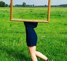 Surrealistic picture frame by Elfchen