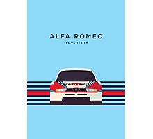 Alfa Romeo Touring Car Martini (Stripes White/Blue) Photographic Print