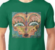 Abstract Face Unisex T-Shirt