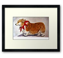 Dashing Through The Snow, Surely You Jest Framed Print