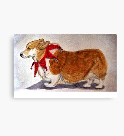 Dashing Through The Snow, Surely You Jest Canvas Print