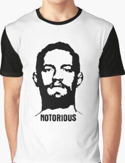 Notorious McGregor (Mugshot) Graphic T-Shirt