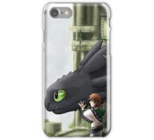 The Last Night Fury iPhone Case/Skin