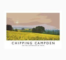 Chipping Campden (Railway Poster) Kids Tee