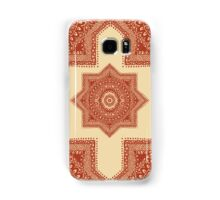The Red Moroccan Pattern Samsung Galaxy Case/Skin