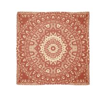 The Red Moroccan Pattern Scarf