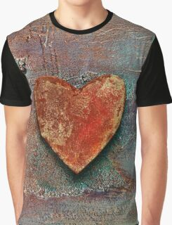 Rusty Heart Graphic T-Shirt