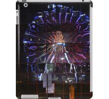 Rainbow Reflected Wheel iPad Case/Skin