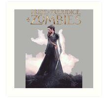pride prejudice zombies the movie story Art Print