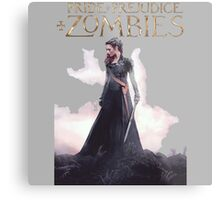 pride prejudice zombies the movie story Metal Print
