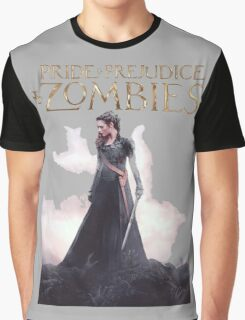 pride prejudice zombies the movie story Graphic T-Shirt