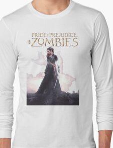 pride prejudice zombies the movie story Long Sleeve T-Shirt