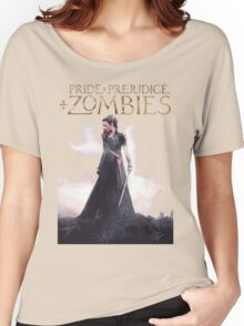 pride prejudice zombies the movie story Women's Relaxed Fit T-Shirt