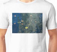 Mesmerizing Autumn - Silky Swirls and Fallen Leaves One Unisex T-Shirt