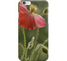 Red impression iPhone Case/Skin