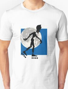 Friendly Zombie - roller-skates T-Shirt