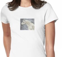 Winter Rider Womens Fitted T-Shirt