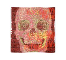 pixilated skull 001 by #RootCat Scarf
