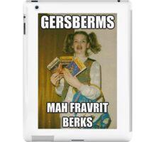 Gersberms iPad Case/Skin