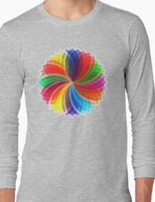 Petal/leaf Long Sleeve T-Shirt