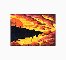 floating city in sunset Classic T-Shirt