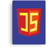 JS Supercoder - Superman Parody for JavaScript Programmers Canvas Print