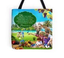 Psalm 37:11 Tote Bag