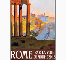 Rome Vintage Travel Poster Unisex T-Shirt