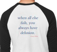 always have delusion Men's Baseball ¾ T-Shirt