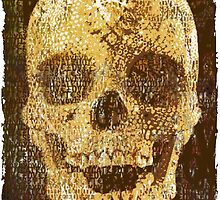 pixilated skull 003 by #RootCat by Grimm Land