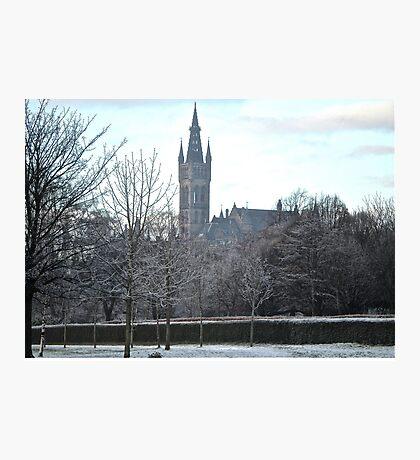 Glasgow University, Scotland Photographic Print
