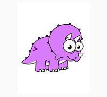 Cute illustration of a Triceratops. Unisex T-Shirt