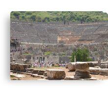 Theatre at Ephesus Canvas Print