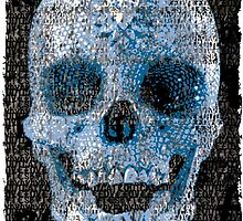 pixilated skull 004 by #RootCat by Grimm Land