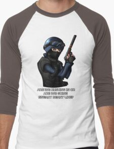 CSGO CT Men's Baseball ¾ T-Shirt