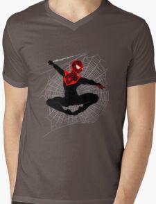 Ultimate Spider-Man IV (Large Variant) Mens V-Neck T-Shirt