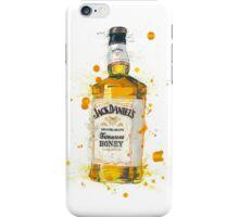 Jack Daniels Whiskey Bottle iPhone Case/Skin