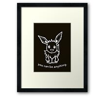 Positive Eevee I Framed Print